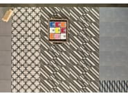 Glazed stoneware wall/floor tiles AZULEJ NERO TRAMA - MUTINA