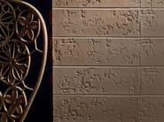 Indoor porcelain stoneware wall/floor tiles BAS-RELIEF PATCHWORK CIPRIA - MUTINA