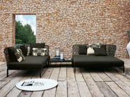 Sectional polyethylene garden sofa RAVEL | Garden sofa - B&B Italia Outdoor, a brand of B&B Italia Spa