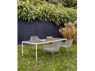 Sled base polyethylene garden chair CRINOLINE | Garden chair - B&B Italia Outdoor, a brand of B&B Italia Spa