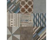 Glazed stoneware wall/floor tiles AZULEJ GRIGIO ESTRELA - MUTINA