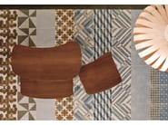 Glazed stoneware wall/floor tiles AZULEJ GRIGIO PRATA - MUTINA
