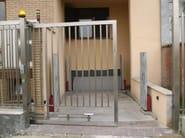 Motorized Sliding metal gate Sliding gate - CARMEC