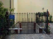 Swing Motorized metal gate Swing gate - CARMEC
