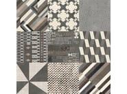 Glazed stoneware wall/floor tiles AZULEJ NERO ESTRELA - MUTINA