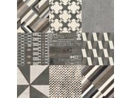Glazed stoneware wall/floor tiles AZULEJ NERO PRATA - MUTINA