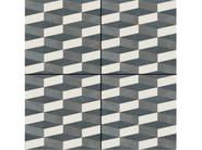 Glazed stoneware wall/floor tiles AZULEJ NERO CUBO - MUTINA