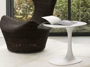 Oval Cristalplant® garden side table AWA OUTDOOR - B&B Italia Outdoor, a brand of B&B Italia Spa