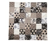 Multi-colored patchwork lap robe PLAID TRADITION - LELIEVRE