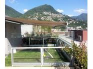 Glass and aluminium gazebo BELLAVISTA SYSTEM | Gazebo - GM MORANDO