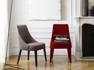 Upholstered fabric chair FEBO | Chair - Maxalto, a brand of B&B Italia Spa