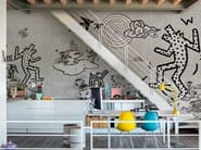 Nonwoven wallpaper KEITH BAU - Wall&decò