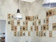 Motif vinyl wallpaper JUVENILE - Wall&decò