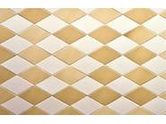 Indoor porcelain stoneware wall/floor tiles TEX WHITE - MUTINA