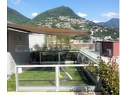 Glass and aluminium balustrade BELLAVISTA SYSTEM | Balustrade - GM MORANDO