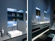 Bathroom mirror with cabinet MANTRA - Antonio Lupi Design®