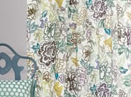 Printed cotton fabric with floral pattern VASTERIVAL | Fabric for curtains - Zimmer + Rohde
