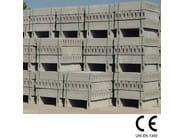 Wheel stop parking kerb Cordoli - GIORNI OSCAR Prefabbricati