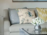 Embroidered viscose fabric FIGHTING KNIGHTS | Upholstery fabric - Zimmer + Rohde