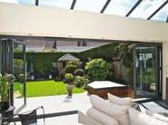 Aluminium patio door BSF70 - ALUK Group