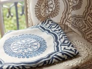 Fabric with graphic pattern STONEWARE - Zimmer + Rohde
