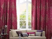 Jacquard fabric with graphic pattern JAGUAR | Fabric for curtains - Zimmer + Rohde
