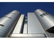 Continuous metal laminate for facade ZINTEK® | Continuous metal laminate for facade - ZINTEK