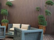 Engineered wood decking SMOOTH ATMOSPHERE DECK BOARD - Silvadec