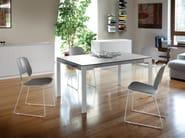 Sled base polypropylene chair TRAFFIC-T | Polypropylene chair - DOMITALIA