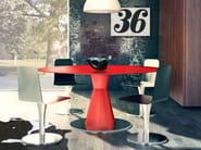 Round aluminium table ARBAT | Table - altreforme