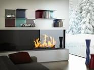 Aluminium wall shelf BRICKELL - altreforme