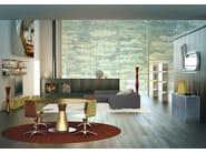 Indirect light aluminium floor lamp ULUS | Floor lamp - altreforme
