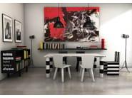 Double-sided aluminium sideboard SIMBOLO | Sideboard - altreforme
