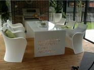 Rectangular aluminium table PLEX - altreforme