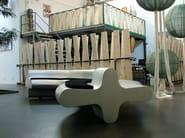 Modular aluminium bench LIQUIRIZIA - altreforme