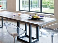 Rectangular dining table ZOE | Rectangular table - Ph Collection