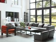 Modular fabric armchair CABRA | Armchair - Ph Collection