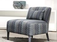 Upholstered fabric easy chair ELENA | Easy chair - Ph Collection