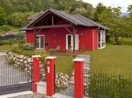 Wooden house CASA MIA 85 - Spazio Positivo by Rensch-Haus