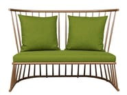 Iron small sofa WINDSOR | Small sofa - Hamilton Conte Paris