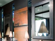 Rectangular wall-mounted framed mirror PLOMB | Mirror - Ph Collection