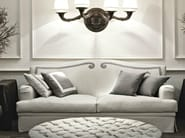 Upholstered fabric sofa CLEMENTINA - SOFTHOUSE