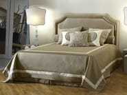 Fabric double bed with upholstered headboard COSIMO - SOFTHOUSE