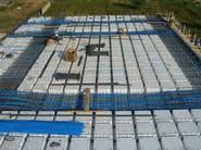 Formwork panel and lightening element for floor slab Solaio BIG CUBE - Sicilferro Torrenovese