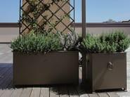 Iron planter with trellis ALTEA - UNOSIDER