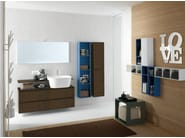 Bathroom furniture set CANESTRO - COMPOSITION C13 - NOVELLO