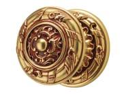 Chromed brass door knob ROCOCÒ | Door knob - LINEA CALI'