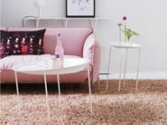 Low round coffee table DIZZY | Low coffee table - Karl Andersson & Söner