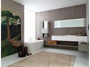 Bathroom furniture set LIBERA 3D - COMPOSITION L01 - NOVELLO