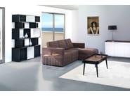 Low wood veneer coffee table for living room PAAL - AZEA